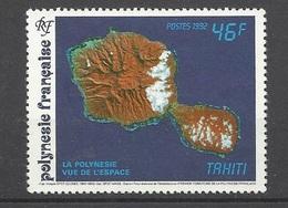 Polynésie Poste N° 405   Année De L'espace Vue Des îles  Neuf * *= MNH VF Soldé à Moins De 20 % ! - Oceania