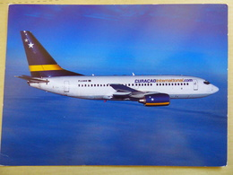 AIRLINES ISSUE / CARTE COMPAGNIE    CURACAO INTERNATIONAL  B 737 700 - 1946-....: Ere Moderne