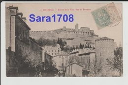 04 SISTERON, Rue De Provence. ( VOIR 2 SCAN ). - Sisteron