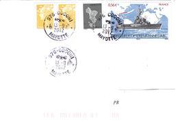 12983 MAYOTTE -  COCONI - 13/9/2012 - Affranchissement MIXTE - Mayotte (1892-2011)