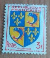 Blason : Dauphiné (3F) - France - 1953 - France