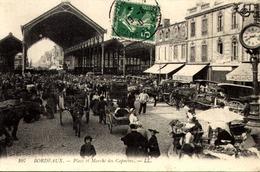 CPA (33) BORDEAUX Place Et Marché Des Capucins Marchands Ambulants /  LOT 745 - Bordeaux