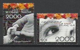 """Polynésie Poste N°610 Et  611  """" La Orana Et Maeva""""   Neufs * * TB = MNH VF Soldé à Moins De 20 % ! - Ongebruikt"""
