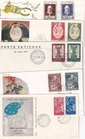 VATICAN  LOT DE 10 LETTRES - Lettres & Documents