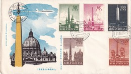 VATICAN 1959 LETTRE ILLUSTREE - Lettres & Documents