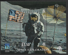 BIOT 2009 Space Exploration Souvenir Sheet Unmounted Mint [5/4847/ND] - British Indian Ocean Territory (BIOT)