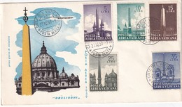 VATICAN 1959 LETTRE ILLUSTREE - Vatican