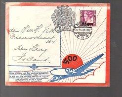 Medan 1937 Visser-Veth Deli Medan > H. Veth Riouwstraat 164 Den Haag (279) - Nederlands-Indië