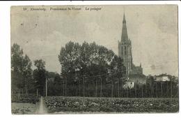 CPA- Carte Postale -Belgique-Alsenberg- Pensionnat St Victor - Le Potager 1911-VM2717 - Beersel