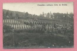 68 - Environs Ste MARIE Aux MINES - WISSEMBACH - Carte Photo - Cimetière Militaire - Côte De St Dié - Soldats Français - Sainte-Marie-aux-Mines