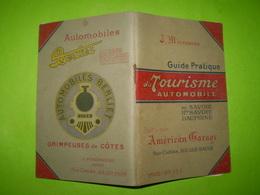 Tourisme Automobile En Savoie,Hte Savoie,Dauphiné De L'Américan Garage à Aix Les Bains, Publicités:automobiles Berliet . - Tourisme