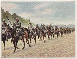 Sammelbild Eckstein-Halpaus Dresden - Der Weltkrieg (1918) - Deutsche Kavallerie Im Vorgehen - Nr. 189 (40798) - Zigaretten