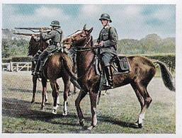 Sammelbild Eckstein-Halpaus Dresden - Die Deutsche Wehrmacht - Schießen Aus Dem Sattel - Nr. 48 (40800) - Zigaretten