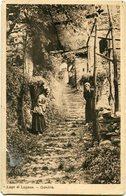 LAGO DI LUGANO - GANDRIA. SVIZZERA POSTALE CPA CIRCA 1900's NON CIRCOLATO -LILHU - TI Tessin