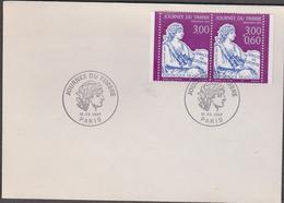 FRANCE 1 Enveloppe Premier Jour Journée Du Timbre 1997 - Mouchon 1902 N°YT P3052A 10 03 1997 - FDC