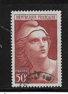 France Timbres De 1945/47 Marianne De Gandon N°732 Oblitéré - 1945-54 Marianna Di Gandon