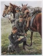 Sammelbild Eckstein-Halpaus Dresden - Die Deutsche Wehrmacht - Hufbeschlag Auf Dem Gefechtsfeld - Pferd- Nr. 146 (40804) - Zigaretten