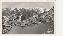 CHAMONIX  - LE REFUGE DU LAC BLANC - LA CHAINE DES AIGUILLES Et Le MONT BLANC -  Edition : JANSOL De Chambéry  N°515 - Chamonix-Mont-Blanc