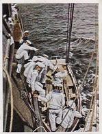 Sammelbild Eckstein-Halpaus Dresden - Die Deutsche Wehrmacht - Boot Wird Zu Wasser Gefiert - Marine - Nr. 196 (40811) - Zigaretten