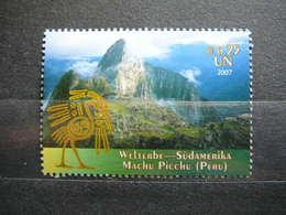 World Heritage Sites # United Nations UN Vienna Austria 2007 MNH # Mi. 508 Machu Picchu - Vienna – International Centre