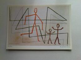 Art  Postcard -  Paul Klee  -  Der Gefundene Ausweg - Paintings