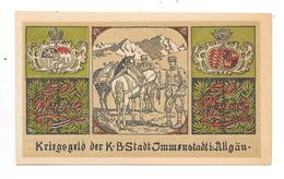 **notgeld Immenstadt 50 Pfennig 4.6c - [11] Local Banknote Issues