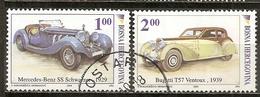 Bosnia And Herzegovina 2006 Automobiles Classic Cars, Mercedes, Bugatti Obl - Bosnia And Herzegovina