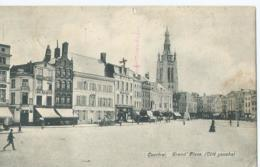 Kortrijk - Courtrai - Grand'Place (Côté Gauche) - 1907 - Kortrijk