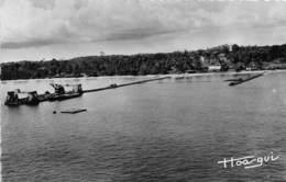 GABON LIBREVILLE Travaux Du Nouveau Pont 18(scan Recto-verso) MA187 - Gabon