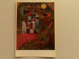 Art  Postcard -  Paul Klee  -  Villa R - Paintings