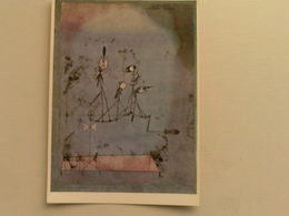 Art  Postcard -  Paul Klee  -  Twittering Machine - Paintings