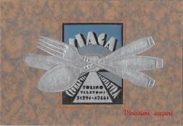 "1106 ""TORINO - SIAGA - SOCIETA' ITALIANA APPLICAZIONI GALVANICHE AFFINI - CROMATURA ........"" - Advertising"