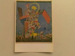 Art  Postcard -  Paul Klee  -  Demon Above The Ships - Paintings