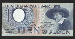 NETHERLANDS  10 GULDEN  1943 - [2] 1815-… : Koninkrijk Der Verenigde Nederlanden