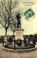 51 - PONT-FAVERGER - MONUMENT AUX MORTS DE LA GUERRE DE 1870 /LOT 745 - Autres Communes