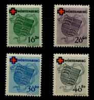Allemagne Wurtemberg (1949) N 38 A 41 (Luxe) (C200 E40) - Wuerttemberg