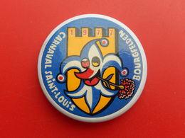 Broche Insigne -  Carnaval De  Saint Louis  Bourgfelden  - Haut Rhin 68 - 1977 - Carnaval