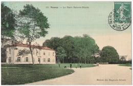 NANCY (54) PARC SAINTE-MARIE. CARTE TOILEE. 1908. - Nancy