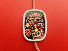 Insigne -  Carnaval De  Saint Louis  Bourgfelden  - Haut Rhin 68 - 1967 - Carnival