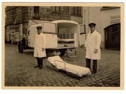 Service Communal D'Incendie, Anderlecht 1857 - 1932  - Pompiers - Firemen - Ambulance - 2 Scans - Firemen