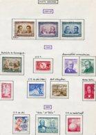 12661 CHILI  PA 218/20, 221, 222, 223/4, 225, 226, 227, 228, 229, 230, 231  */ °/(*)  1964-66   TB - Chile