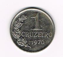 //  BRAZILIE  1 CRUZEIRO  1971 - Brésil
