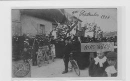 GOUVIEUX CAVALCADE 1906 CENTRE VILLE CHAR - Gouvieux