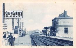 ¤¤  -   EPONE-MEZIERES    -   La Gare   -  Chemin De Fer      -  ¤¤ - Epone
