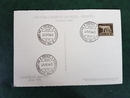 (34939) STORIA POSTALE  ITALIA 1940 - 1900-44 Victor Emmanuel III