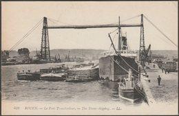 Le Pont Transbordeur, Rouen, C.1910 - Lévy CPA LL428 - Rouen