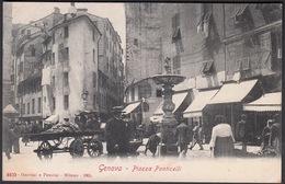Italia  -  GENOVA, Piazza Ponticello - Genova (Genoa)