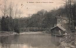 21 Semur Moulin Et Passerelle Charras - Semur