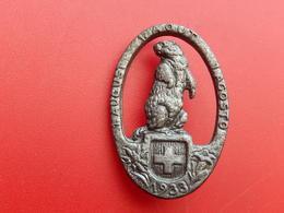 Broche /  Insigne De La Fête Nationale Suisse 1 VIII Août 1933 - HUGUENIN LOCLE - Non Classés