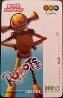 Mobilecard Thailand - 12Call - Movie,Film,cinema  - Robots (3) - Thaïland